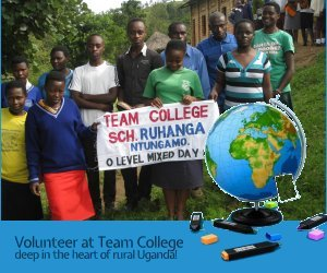 Volunteer at a Secondary Schhol in Western Uganda